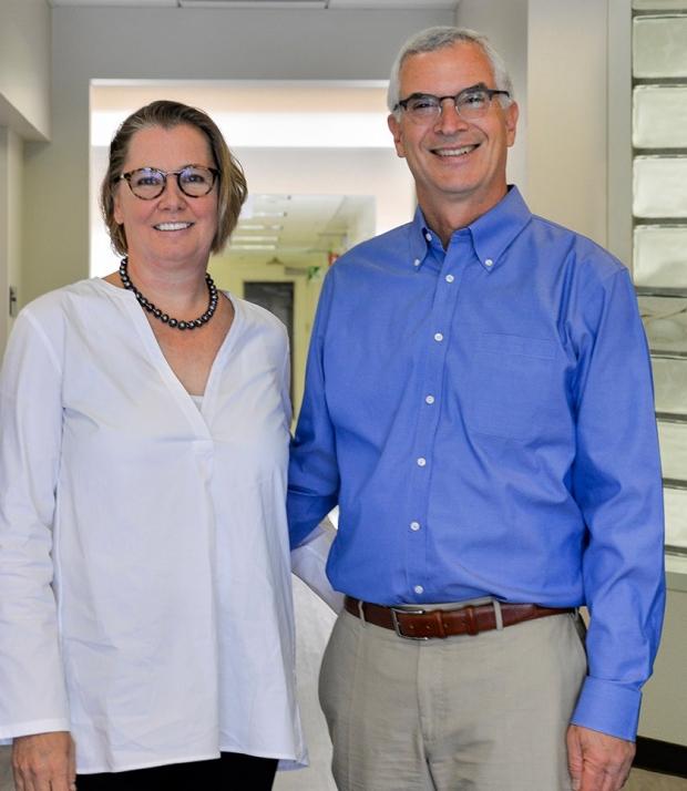 Marieke and Jeffrey Rothschild