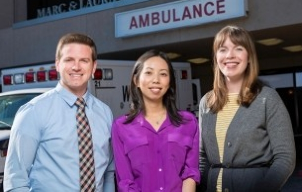 Jared Conley, Waimei Tai, and Lucy Kalanithi